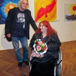 Die Künstler Fritz und Hansi Oesterlein