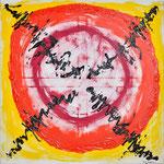 Hansi Oesterlein: Vision - 90x90 Acryl