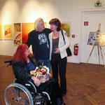 Die Künstler Hansi Oesterlein, Fritz Oesterlein, Elisabeth Kloiber