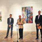 Werner Rodlauer, Künstlerhauspräsident Prof. Joachim Gartner, StR. Andreas Mailarth-Pokorny