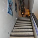 Aufgang zur oberen Galerie