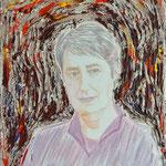 Fritz Oesterlein: Margit Fischer  80x100 Acryl