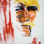 Fritz Oesterlein:Karfeitag  2012  80x100  Acryl