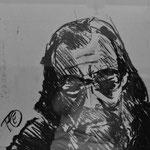 Fritz Oesterlein: Prof. Maurer 50x70  Pastell
