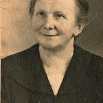 Ein Foto von Rosa Bertha Zabel, geb. Vetter.