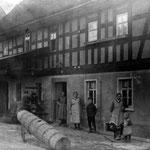 Die Schmiede in Dorna. Hier erlernte Karl Kurt Neitsch das Schmiedehandwerk.
