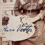 Rosa Bertha Vetter wohl vor ihrer ersten Ehe 1906