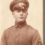 Kurt Neitsch als Reichswehrsoldat