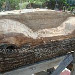 El tronco va tomando forma poco a poco, y no hay margen de error