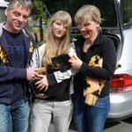 Caya mit Sylvia,  Wolfgang und Cira wohnt jetzt in Warstein
