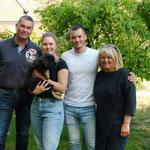 Grisu wohnt nun bei Familie Gothe in Uetersen