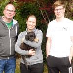 Grischa jetzt Merlin wohnt bei Tina Jodeit mit Familie in Essen/Ruhr