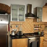 Kitesurfen Apartment Ferienwohnung Tarifa Küche Casa Luna