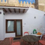 Kiten in Spanien Apartment Ferienwohnung Tarifa Balkon Grill Dachterrasse Casa Tarifa