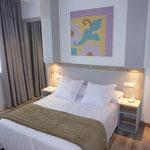 Bett Doppelzimmer Hotel Misiana Partnerunterkunft von waveBandits