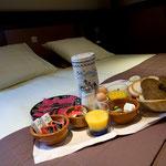 Frühstück im Hotel de Gulden Leeuw