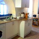 Kiten in Spanien Apartment Ferienwohnung Tarifa Küche Casa Tarifa