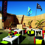Unsere neue Kite Station an der WAVES Bar in Tarifa