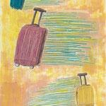 全自動で空を飛ぶスーツケース