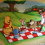 Kinderkamer, kidsroom, Winnie the Pooh