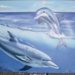 Kinderkamer, kidsroom, dolfijn, dolfin