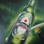 Heineken fles, beerbottle
