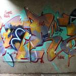 HerzOne graffiti, 2011 neon