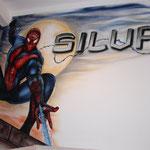 Kinderkamer, kidsroom, Spiderman, Marvel, superheroes