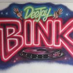 Kinderkamer, kidsroom, neon, deejay, dj, graffiti