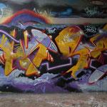 HerzOne graffiti, 2011 Amsterdam, Schellingwoudebrug