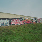 HerzOne graffiti, 1996 Herz, Bel, Serch, Sezar, Zware Jongens
