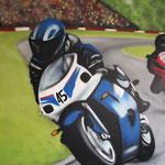 Kinderkamer, kidsroom, motor, Moto GP