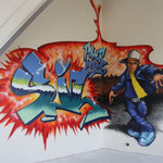 Kinderkamer, kidsroom, breakdance, bboy, graffiti