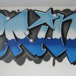 Kinderkamer, kidsroom, graffiti