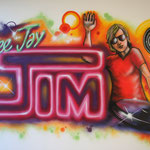 Kinderkamer, kidsroom, DJ, deejay, dancemusic, graffiti