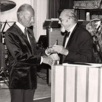 OB Eugen Keidel (li.) und G. Höhne