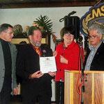 Verleihung der Landesehrennadel an Manfred Warta