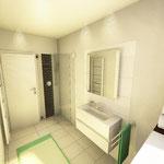 Planung des Duschbereichs