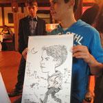 Karikatur & Schnellzeichnen Kaufhaus