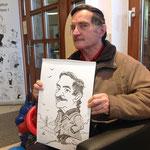 Karikatur & Schnellzeichnen Firmenjubiläum