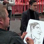 Karikatur & Schnellzeichnen Messe