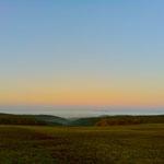 Das Rheintal als Nebelschlauch