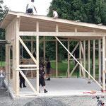 Neubau einer Kalthalle