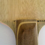 """Aufdruck """"clipper wood"""" Vorhandseite"""