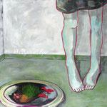 "Ulla Nentwig 2012 ""Morgenröthe "" Acryl auf LW,130x150cm"