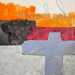 "Ulla Nentwig 2012 ""um kehren "" Acryl auf LW,120x100cm"