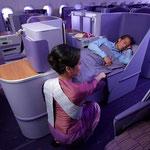 Thai Airways Royal Silk Business Class