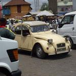 Les 4L et 2 cv sont majoritaires dans le parc des taxis de Tananarive