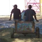 le moyen de transport du pauvre