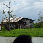 Les premières maisons du Nicaragua